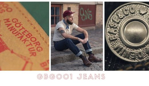 Göteborg Manufaktur x Indigo Veins x Denim Base – GBG001 Jeans