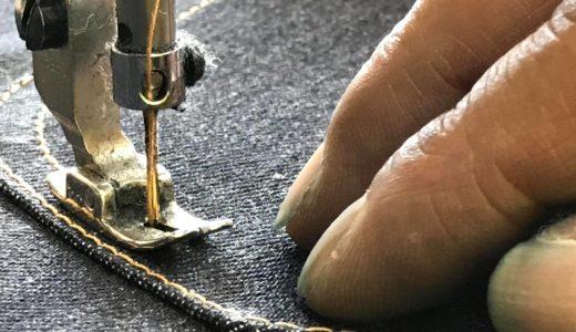 縫製が順調に進行中<GBG001 JEANS>